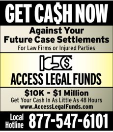 Yellow Pages Ad of Access Legal Funds