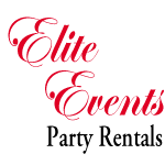 Elite Events Party Rentals logo