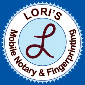 Lori's Mobile Notary & Fingerprinting logo