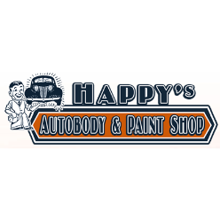 Happy's Collision Center logo
