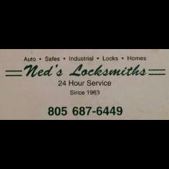 Ned's Locksmith logo