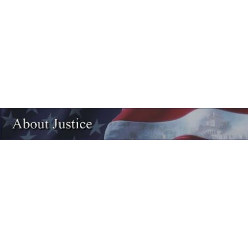 About Justice logo