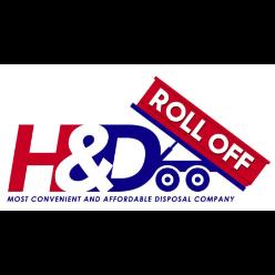 H & D Roll Off logo