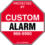 Custom Alarm Co logo