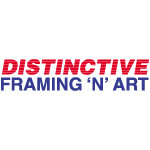 Distinctive Framing 'N' Art logo