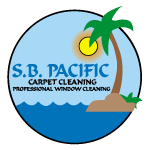 S B Pacific Carpet Cleaning logo
