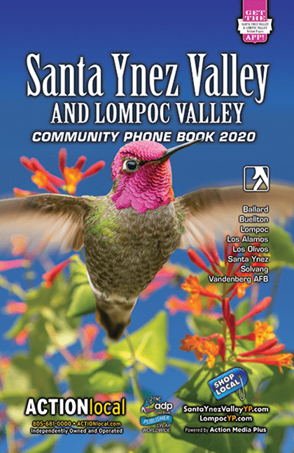 Sanata Ynez Valley Print Directory Cover
